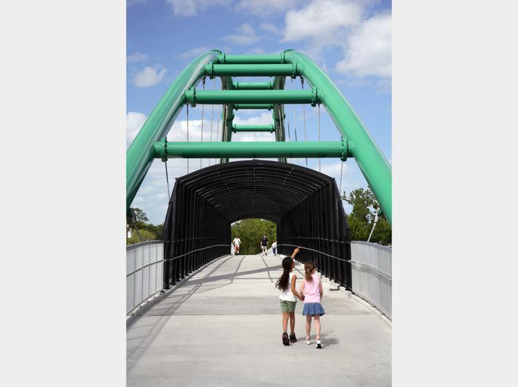 Cady way trail bridge
